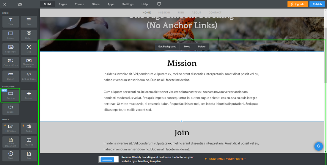 How To Make A One Page Smooth Scrolling Navigation (Without Anchor